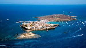 Tabarca Island from Alicante
